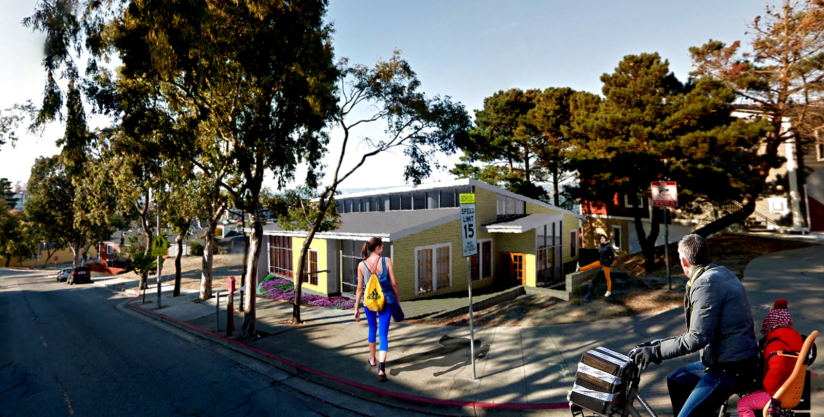 Northridge CoOp Housing Community Center, San Francisco